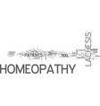 a look at lachesis homeopathy text word cloud vector image vector image