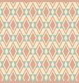 abstract seamless geometric rhombuses pattern vector image
