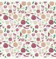 background of fresh and healthy food vegetables vector image vector image