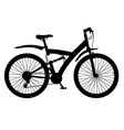 bicycle 13 vector image vector image