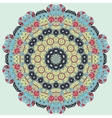 Bright coloured seamless mandala vector image vector image