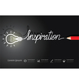inspiration vector image vector image