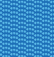 Blue diamond background vector image