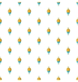 Bobber pattern cartoon style vector image vector image