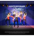 Contemporary Ballet vector image vector image