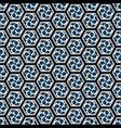 hexagonal seamless repeat vector image