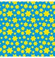 Hexagram pattern vector image