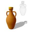 oil bottle vector image