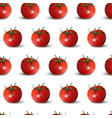 seamless pattern of tomatoes vector image