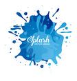 splash concept design vector image vector image
