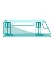 subway transport fast flat shadow vector image vector image