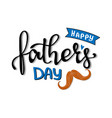fathers day greetings card vector image vector image