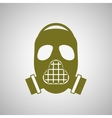 Military mask design vector image vector image