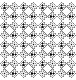 monochrome tiled pattern diagonal seamless vector image