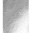 silver foil background vector image vector image