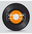 vinyl 45 rpm mockup 02 vector image vector image
