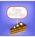 Sweet Cake Isolated vector image