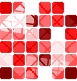 Abstract seamless squares vector image vector image