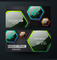business horizontal banners vector image vector image