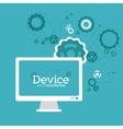 Device icon design vector image vector image