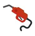 Fuel pistol vector image