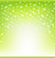 green nature background vector image vector image