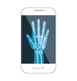 Medical healthcare theme design icon vector image vector image