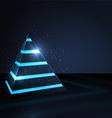 piramid vector image vector image