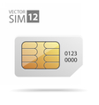 SimCard04 vector image vector image