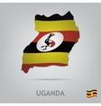 uganda vector image