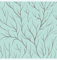 beautiful seamless background with tree branches vector image vector image
