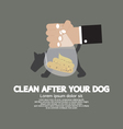 Clean Up After The Dog vector image vector image