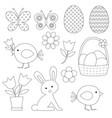 easter digital stamps vector image vector image