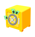 icon safe vector image vector image