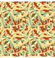 Lines in retro colours abstract seamless pattern vector image vector image