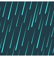 raindrops seamless pattern vector image