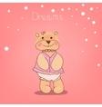 Romantic Bear vector image vector image