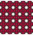 Seamless Islamic Interlacing Line Star vector image
