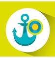vacation around world sunny nautical vector image vector image