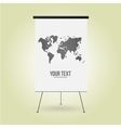 Empty Board for business presentation the website vector image