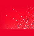 abstract background with color stars vector image