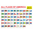 all flags america