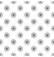 decorative flower pattern seamless vector image