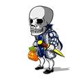 Prince of Halloween vector image vector image