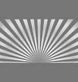 sun rays background gray radiate sun beam burst vector image