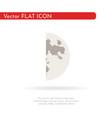 crescent moon 2 vector image vector image