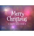 merry christmas concept happy new year vector image