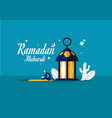 muslim doing reading al quran ramadan holy month