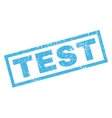 Test Rubber Stamp vector image vector image
