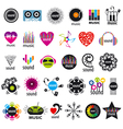biggest collection of logos music and sound vector image